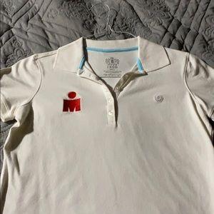 Ironman button down. Polo type shirt.